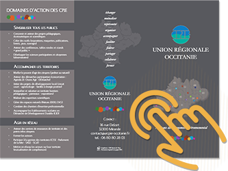 Plaquette URCPIE Union Régionale Occitanie
